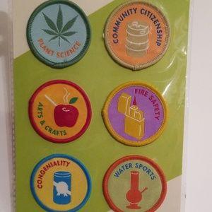 Merit badges- 6 patches